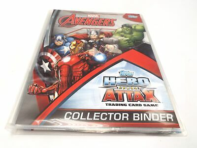 TOPPS MARVEL AVENGERS 'Hero Attax' Full Set Of 208 + Binder & Limiteds - C05