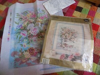 Something Special Needlepoint 'still Life Bouquet'  Candamar 30776