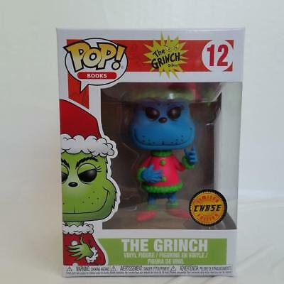 Funko Pop Chase LE Variant Blue The Grinch #12 Dr. Seuss Figure Christmas Toy