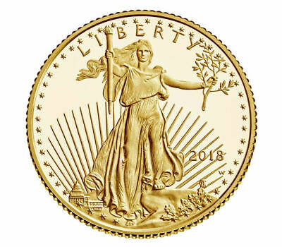2018-W $5 (1/10 oz) GOLD AMERICAN EAGLE PROOF (18EE)