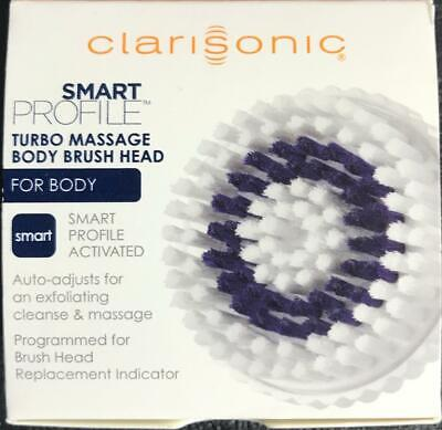 NEW CLARISONIC SMART PROFILE TURBO MASSAGE Body Brush Head Replacement Part