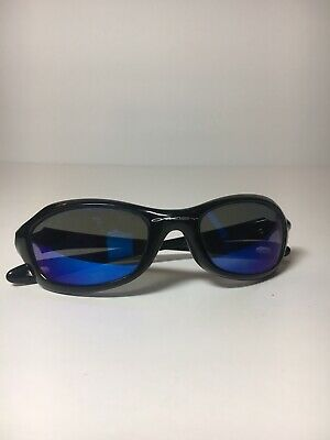 0bbd921ec40f3 KIDS OAKLEY XS Fives Polished Black   Blue Iridium  03-450 49-20 ...