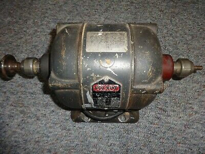 Handler Mtg Red Wing Ball Bearing AC Motor Model 26 Dental Lathe