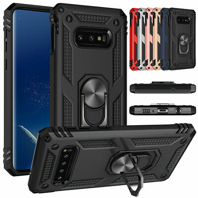 For Samsung Galaxy S8 S9+ Note 9 8  Magnetic Phone Case with Ring Stand Cover