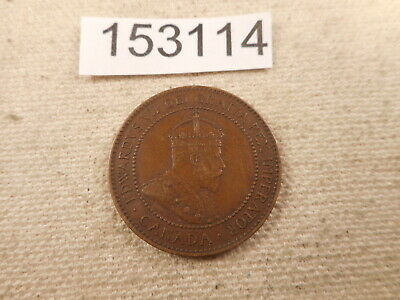 1908 Canada Large Cent - Very Nice Collector Grade Album Coin - # 153114