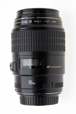 Canon EF 100mm f/2.8 Macro USM  Lens for Canon SLR and Digital Cameras