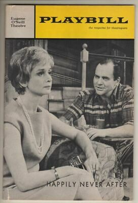 "Barbara Barrie   ""Happily Never After""   Playbill  1966   OPENING NIGHT  FLOP"
