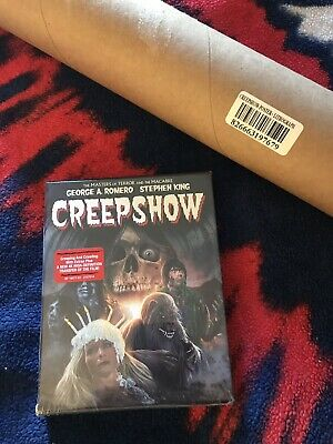 Scream Factory ~ Creepshow Blu-ray Set + LIMITED Poster & Lithograph SOLD OUT
