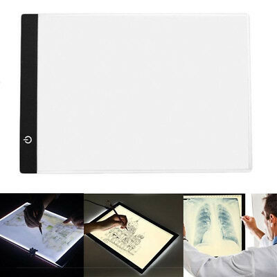 A4 LED Light Tablet Drawing Board Panel Stencil Tracing Pad for Diamond Painting