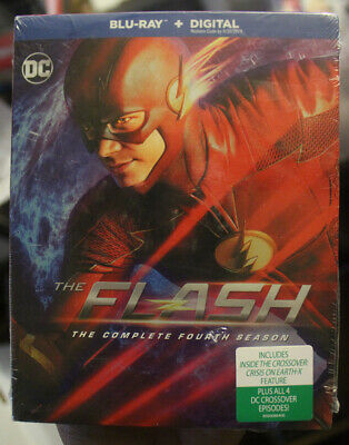 The Flash - The Complete Fourth Season (Blu ray Digital) BRAND NEW SEALED