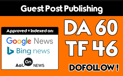 Guest Post On My Da 60 Tech News Blog With Dofollow Link