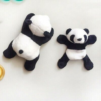 1X Plush Panda Fridge Magnet Refrigerator Sticker Gift Souvenir Decor Divine