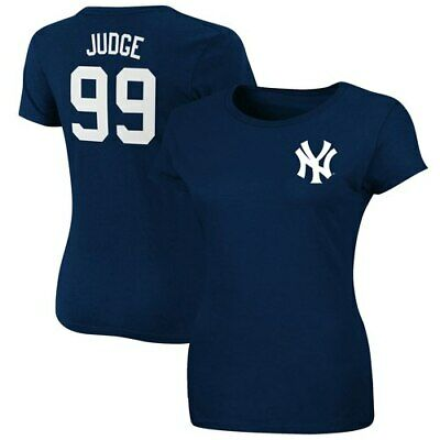 fff525320 Aaron Judge New York Yankees Majestic Women's Plus Size Name & Number T- Shirt -