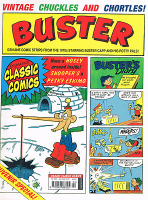 RARE BUSTER SPECIAL SOUVENIR ISSUE (2010) Whoopee, Cor, Monster Fun Intrest