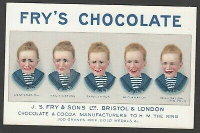 Frys Five Boys Chocolate Reproduction Poster Unposted