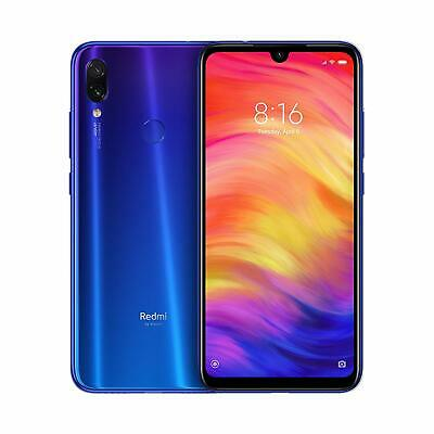 "Xiaomi Redmi Note 7 BLU Smartphone da 6.3"" FHD 3 GB 32 GB GLOBAL BANDA 20"