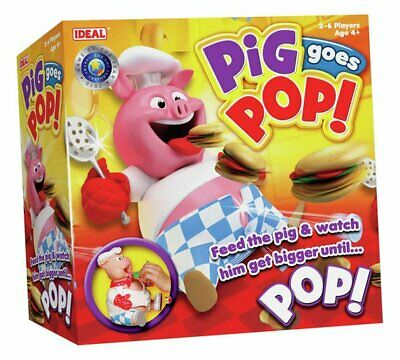 Pig Goes Pop! Game Your Children Shrieking With Laughter  NEW_UK_SELLER