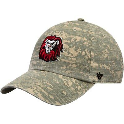 8aab9e3ea82a9  47 Loyola Marymount Lions Camo Operation Hat Trick Nilan Clean Up  Adjustable.