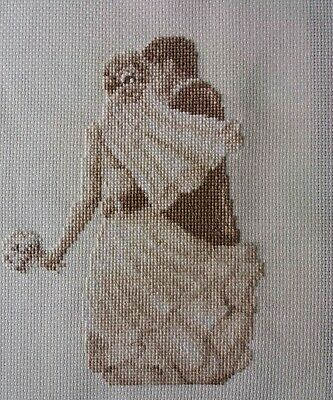 Personalised Completed Cross Stitch Wedding Marriage Sampler