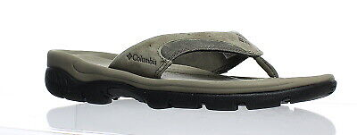 11fc18455edb MENS SZ 9 Columbia Tango Slides Black Charcoal Leather Techlite Omni ...