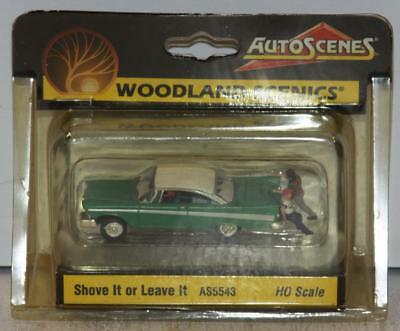 Woodland Scenics HO Shove It or Leave It WOOAS5543