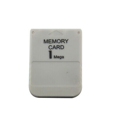 1 MB Memory Card for PlayStation 1 (Hexir) GREY New PS1 One PSOne PSX 15 Blocks
