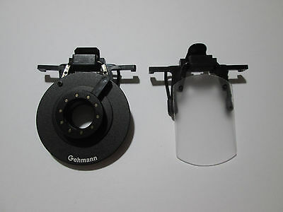Gehmann Clip-on Eyeshield & CCT ISSF Eyeshield set Frost white