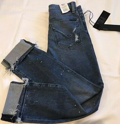 1b37ba926e5 NWT Hudson Jeans High Rise Ankle Straight Zoeey Women's Size 23 MSRP 235