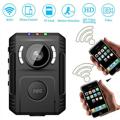 HD 1080P Wifi Police Body Camera Night Vision for Law Enforcement Body Cam US