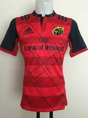Munster Rugby 2016-17 S/s European Jersey By Adidas Size Men's Large Brand New