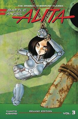 BATTLE ANGEL ALITA DELUXE EDITION VOL #3 HARDCOVER Kodansha Comics HC
