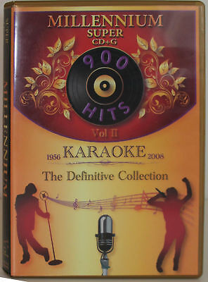 Karaoke Millennium vol-2 Super CD+G it Plays on Cavs or PC/with MP3 + Song List