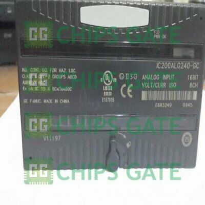 1PCS New GE Fanuc IC200ALG240-FC PLC Module Fast Ship