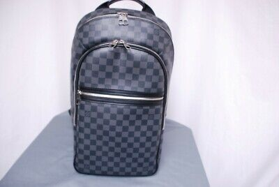 ab1ba65accc  2560 LOUIS VUITTON Damier Graphite Michael backpack - carried 2x trusted  seller