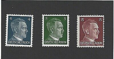 ***SPECIAL***   Small MNH stamp set / Adolph Hitler / Nazi Germany / Third Reich