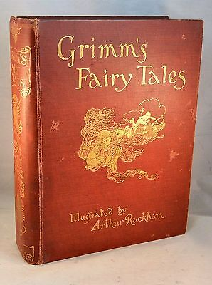 Fairy Tales of the BROTHERS GRIMM 1909 Arthur Rackham Illustrated Children's