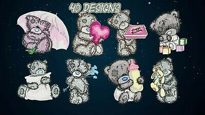 Machine Embroidery Designs - TEDDY BEAR ME TO YOU - 39 Digital Embroidery Files
