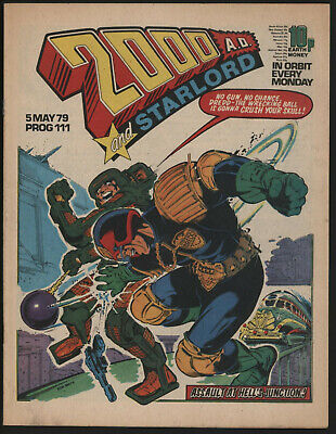 2000 Ad 111, With Starlord Comic. Dave Gibbons Art.