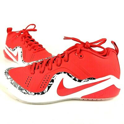 89076771cee9d Nike Zoom Trout 4 Turf TF Baseball Shoes SZ ( 917838-661 ) Red White