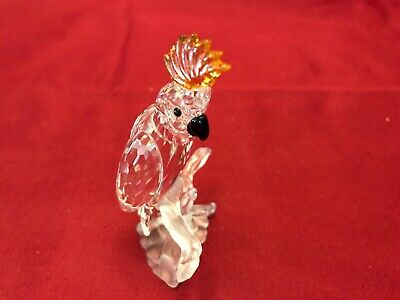 Original Swarovski Crystal Figurine-Cockatoo, #261635 A7621 Retired