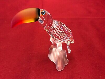 Swarovski Crystal Bird - Toucan, Colored Beak 7621 000 006/234311