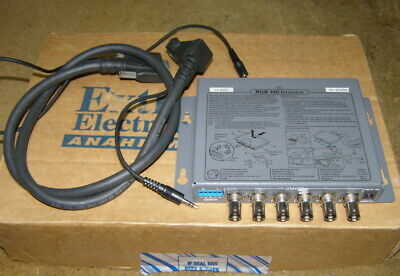 Extron RGB 440 Architectural Series Universal Mountable Interface with Cables