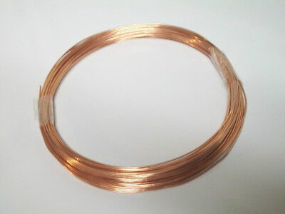 Solid Bare Copper Wire-Choose Your Gauge and Length