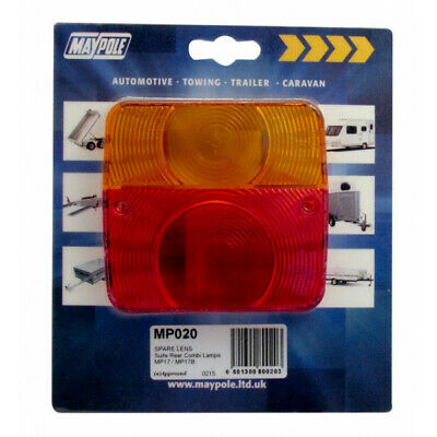 Rear Lamp Square Lens Only 017 Maypole 020