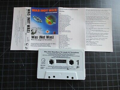 Was (Not Was) Born To Laugh At Tornados Cassette 1986 Ozzy Osbourne Vocals