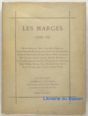 Les marges, Tome VIII Collectif 1911