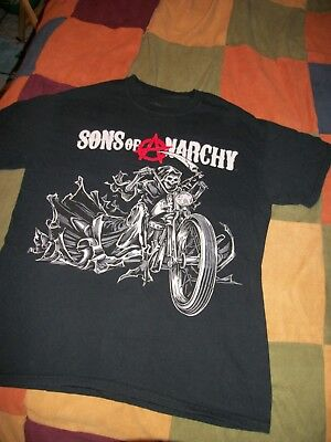 28 30 Reaper Skull Print Lounge Pants Black Sons of Anarchy