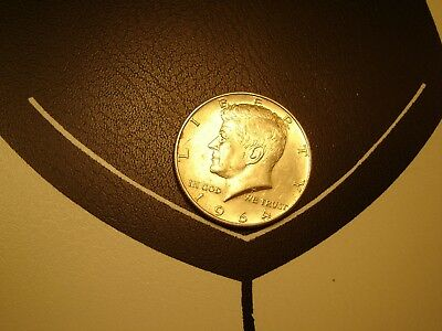 1964-D Kennedy 90% Pure Silver Half Dollar Circulated