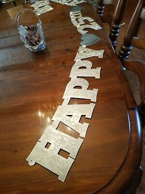 25th Silver Wedding Anniversary Party Supplies Decorations 10 feet long letters