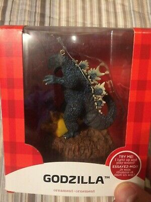 2015 Carlton American Greetings Heirloom Magic Ornament Godzilla Collection
